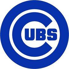 CUBS Chicago Logo World Series MLB Vinyl Decal Sticker Baseball Laptop Wall Art