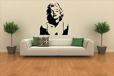 MARILYN Monroe Muro Adesivo Decalcomanie Camera Da Letto Salotto grafica trasferimento di grandi dimensioni