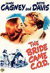 The Bride Came C.O.D. - James Cagney, Bette Davis - USED Slim Case DVD