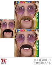 70er hippie Reggae bigote, barba, bigote HOMBRE