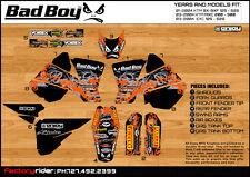 BADBOY  Motocross Graphics KTM SX / SXF 2001-2004 DIRT BIKE GRAPHICS KIT