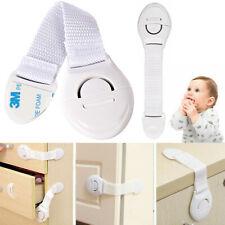 Baby Kids Toddler Safe Lock Proof Cabinet Cupboard Drawer Fridge Pet Door Home