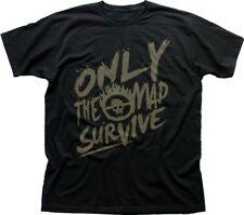 Mad Max Fury carretera sólo el Mad sobrevivir Negro Printed T-shirt fn9361