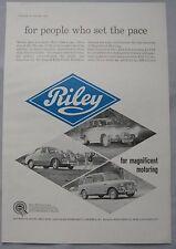 1963 Riley Original advert