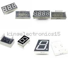 7 Segment 0.56/1.8/0.36 /0.5inch 1/3/4 Digit Common Cathode/Anode Led Display k9