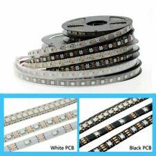 1/2/3/5m Full Color WS2812B LED Strip DC5V RGB Pixel control Black / White PCB