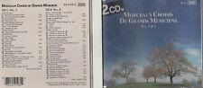DOUBLE CD MORCEAUX CHOISIS DE GRANDS MUSICIENS