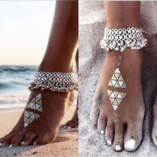 Hippie Boho Anklet Barfoot Sandal F9 Ankle Chain Glocks Bell Anklet Bohemian