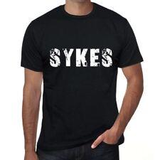 sykes Herren T shirt Schwarz Geburtstag Geschenk 00553