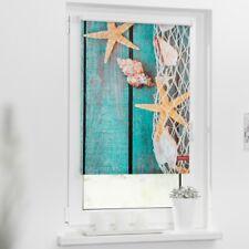 Lichtblick Rollo Klemmfix, ohne Bohren, blickdicht, Motiv Bretter Beach, Farbe p