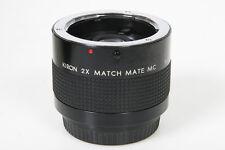 Kiron 2X Teleconverter, Yashica / Contax Mount lens