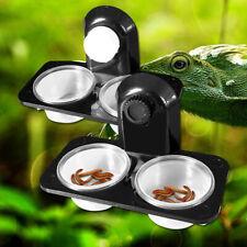 Food Water Dish Bowl Feeder Feeding For Reptile-Lizard Turtle Amphibian Gecko