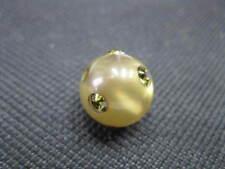 1 Polaris Perle rund 12mm kaki Perlen 6926
