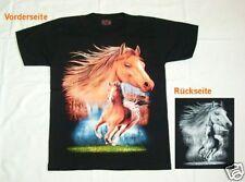 Kinder T-Shirt Gr.S, 110*116: Pferd Rodeo Galopp, Western Reiter Cowboy Pferde