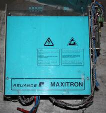 RELIANCE MAXITRON AC/DC CONVERTOR DRIVE Type S6 8003 Part 837.23.03 G