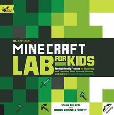 UNOFFICIAL MINECRAFT LAB FOR KIDS - MILLER, JOHN/ SCOTT, CHRIS FORNELL - NEW PAP