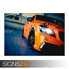MERCEDES Benz CLS Royal (0273) auto POSTER-Foto stampa poster art * Tutte le Taglie