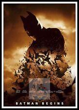Batman Begins 6  Poster Greatest Movies Classic & Vintage Films