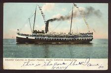 Steamer Cabrillo in Avalon Harbor Santa Catalina CA A7097