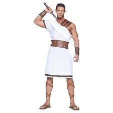 Greek Costume Adult Warrior God Halloween Fancy Dress