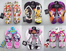 Licensed Disney Flip Flops Sandals Thongs Bambi Bugs Winnie Minnie BNWT Primark