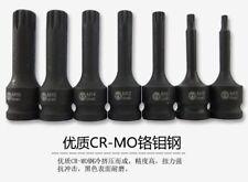 "M5~M18 1/2""Dr Torx Socket TRX-Star Bit Set Dodecagonal Cr-Mo 80mm"