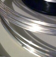 SOLID 925 Sterling Silver HALF-ROUND Wire 5-10ft 18g 20g 21g 22g 24g HALF HARD