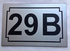 NUMERO DE MAISON personnalisé plaque gravée BIS TER ... 1 à 5 chiffres,