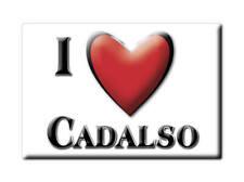 SOUVENIR ESPAÑA EXTREMADURA IMAN MAGNET SPAIN CORAZON I LOVE CADALSO (CÁCERES)