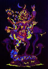 UV Backdrop Tapestry Psychedelic Art Kali Goddess Trippy Wall Art Visionary
