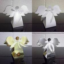 Angel Favour Box Christmas Tree Decoration - Choose Quantity - Choose Colour