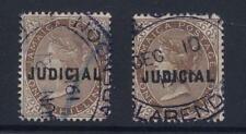 Jamaica Qv 1883 Tribunal Judicial 1 / - Brown... Clarendon