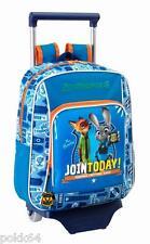 Zootopie cartable Zootropolis trolley M sac à dos Disney 34 cm maternelle 240302