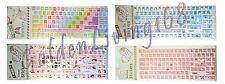Desktop Laptop Keyboard Stickers Large Letters (USA Seller!!!! Fast Shipping!!!)