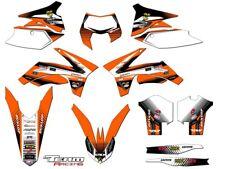2012-2013 KTM EXC EXCF 350 500 GRAPHICS SET DECO DECALS STICKERS EXC F