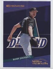 2002 Donruss Super Estrellas Posters de su Jugador #RAJO Randy Johnson Card