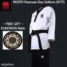MOOTO Poomsae WTF Dan Uniform (Male) Taekwondo Dobok TKD Tae Kwon Do