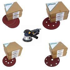 Eckra Schleifscheiben Schleifpapier Klett 125 150 180mm  für Exzenter Schleifmas