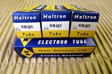 4Pcs. Matched NOS HALTRON EL84 / 6BQ5   Lager Halo Getter