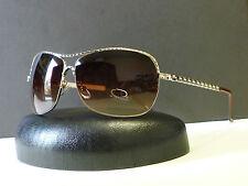 Mens Womens Unique Frame & Temple Texture Aviator Sunglasses +Microfiber Bag #76