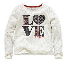 Girls' Slogan Love Top 5-6 7-8 9-10 11-12 yrs Free UK P&P
