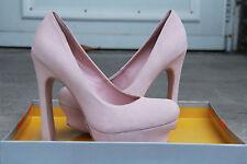 """KELSI DAGGER Women's """"ABRIELLE"""" Pink Suede Pumps in Cipria Sz 6M (NWB)"""