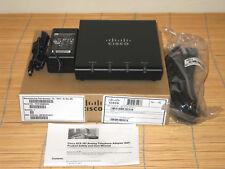 NEU CISCO ATA187-I1-A SIP Analog Tel. Adaptor ATA186-I1 NEW OPEN BOX