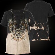 Affliction Woman T-Shirt Setlist Black