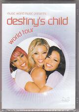 DESTINY'S CHILD - WORLD TOUR - DVD (NUOVO SIGILLATO)