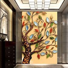 3D Farbe Baum  84  Tapete Wandgemälde Tapete Tapeten Bild Familie DE Summer