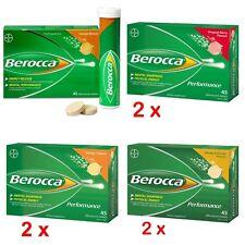 Twin Pack Berocca Performance 45 Effervescent Tablets(Berry, Orange&Mango)