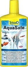 TETRA Aquasafe Tap Water Conditioner Dechlorinator Aqua Safe Chlorine Fish