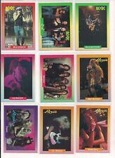 1991 Rock Cards Singles Bon Jovi, AC/DC, Poison / Choose From List (CHOICE)