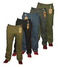 Para Hombre Kam Combate Cargo Pantalones Ropa De Trabajo Caminar verano en 5 Colores 30 a 40